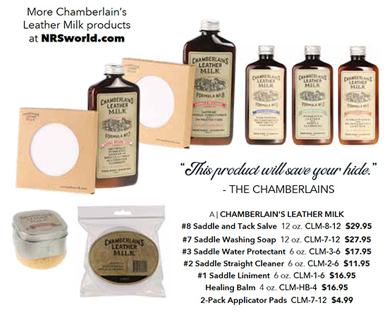 Chamberlain's Leather Milk products
